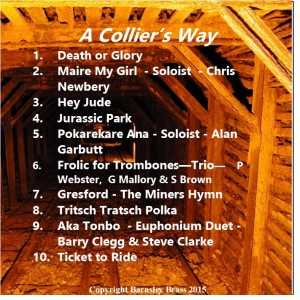 Colliers way inside cover